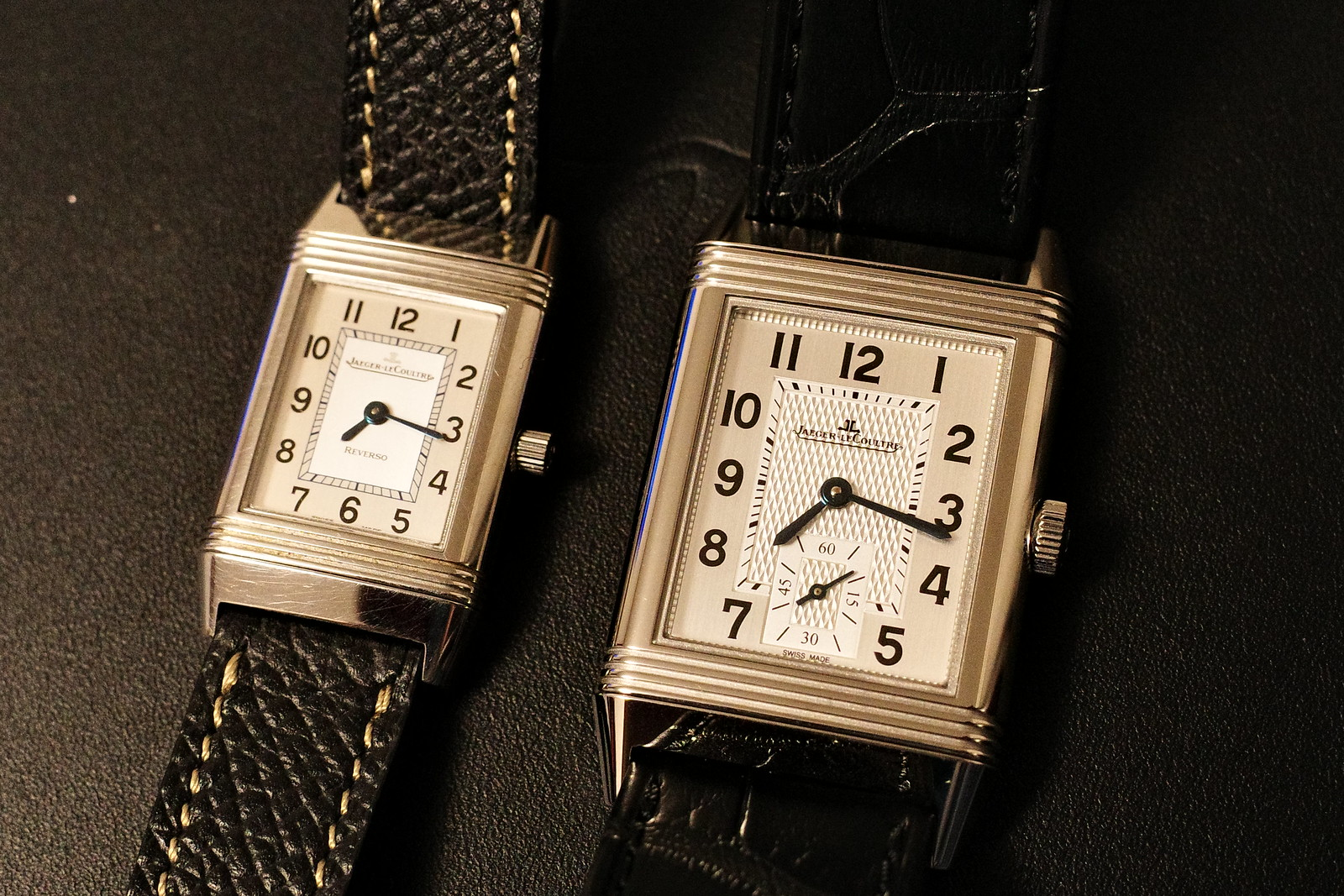 Jaeger LeCoultre Reverso Classic Midium Small Second 9