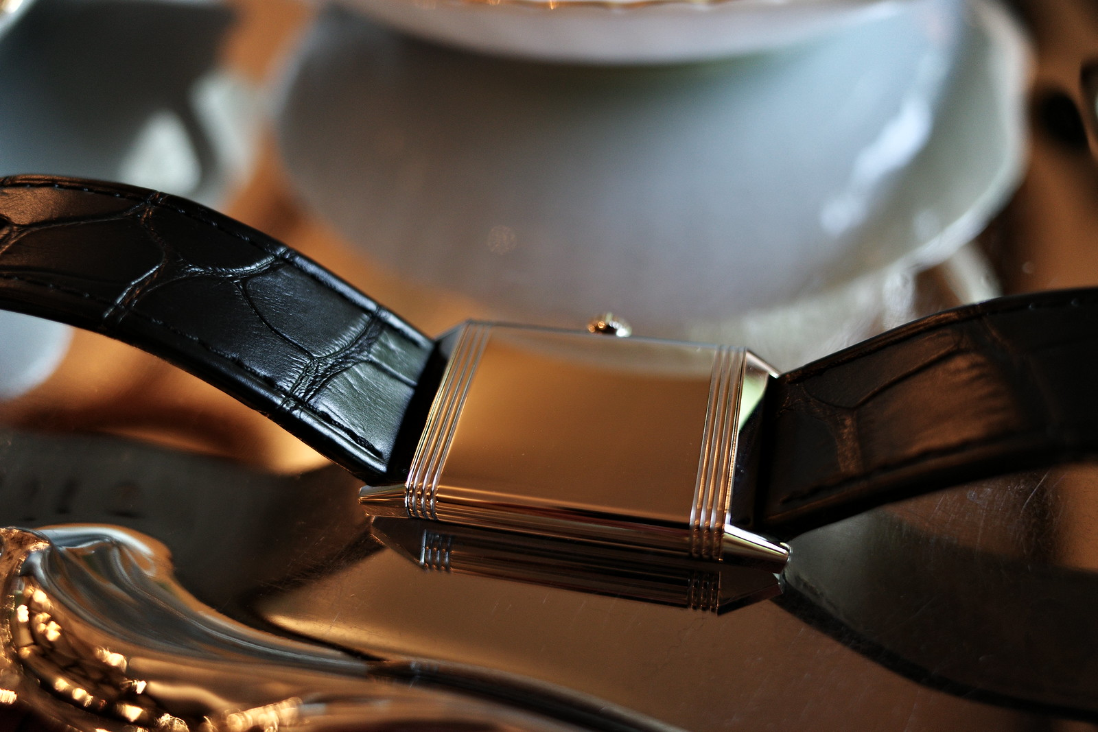 Jaeger LeCoultre Reverso Classic Midium Small Second 10