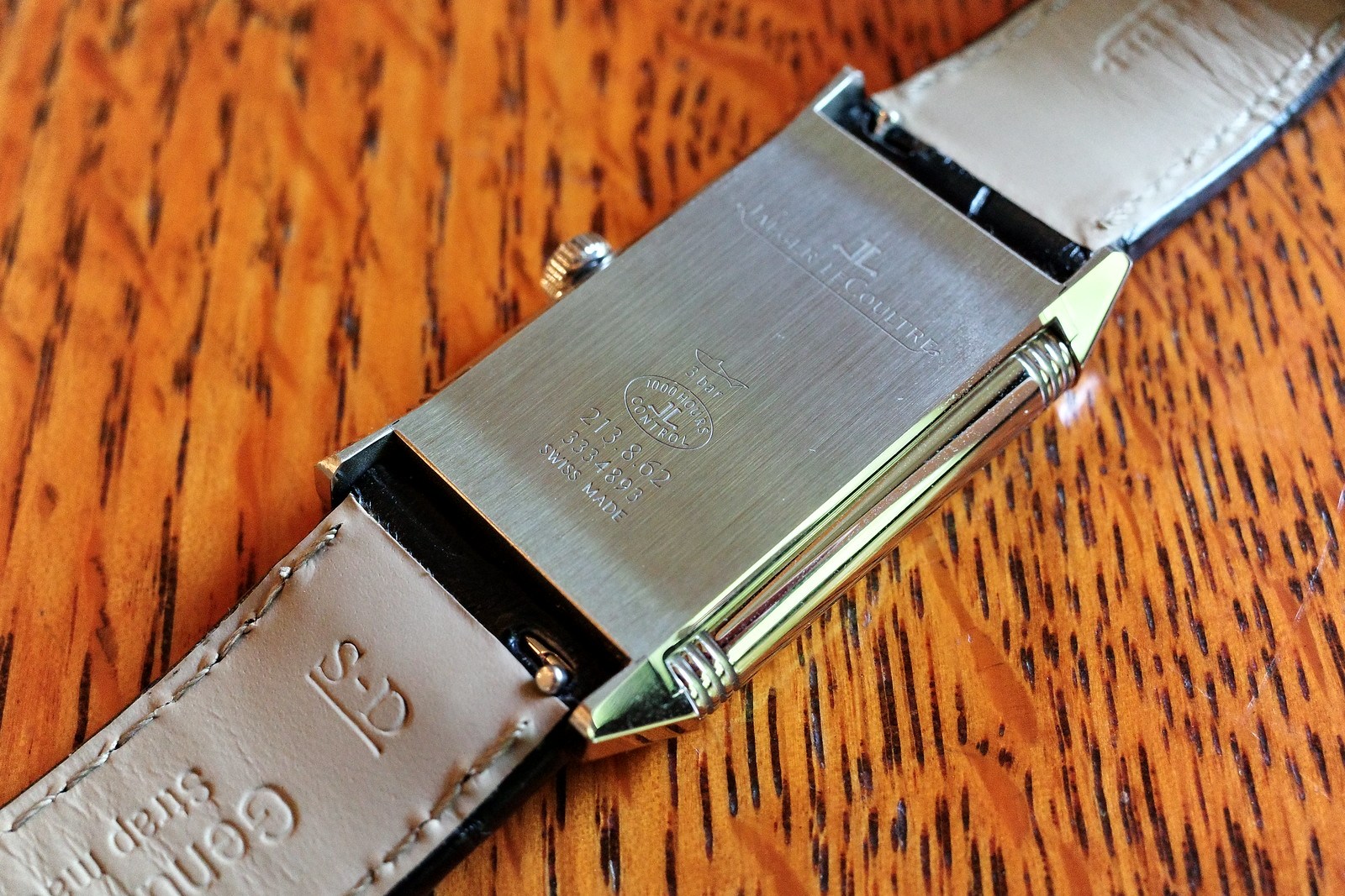 Jaeger LeCoultre Reverso Classic Midium Small Second 8